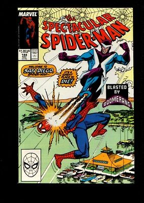 The Spectacular Spider-Man Us Marvel Vol 1 # 144/'88