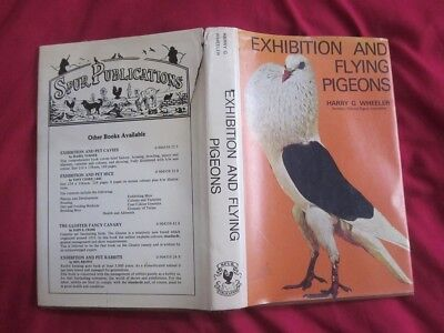 Exhibition and Flying Pigeons by Harry G. Wheeler  First Edition Hardback, 1978