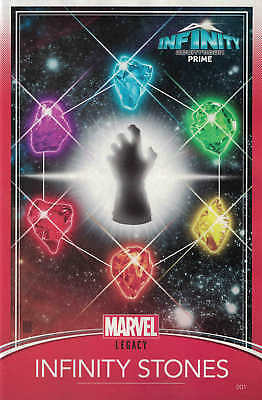 Infinity Countdown Prime #1 Christopher Trading Card Variant Stones Gauntlet ...
