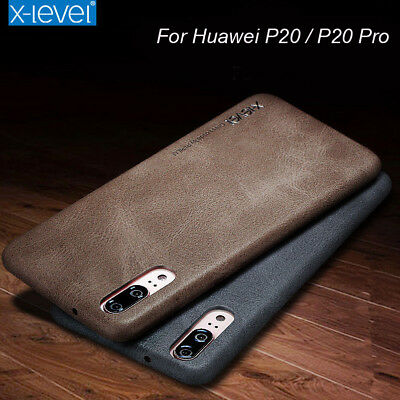 X-Level Retro Vintage Series Faux Leather Ultra Thin Back Cover Case for Huawei