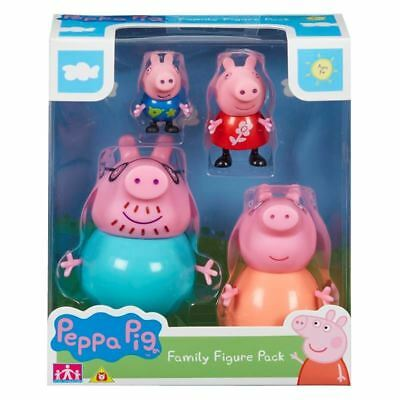 Peppa Pig  - Peppa Family Pack Of Figures - Brand New