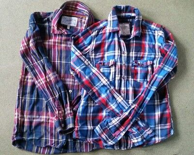 Boys Shirt Bundle x 2 Joules & Abercrombie & Fitch . 11-12 years.