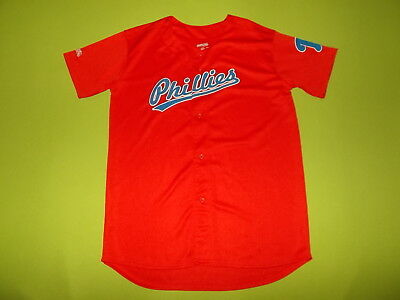 Jersey PHILADELPHIA PHILLIES (14/15 years) (Youth XL) STITCHES PERFECT !!!