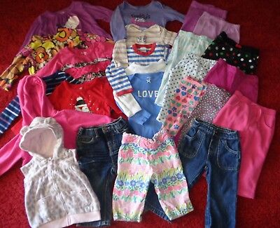 01c5fae78 Huge Lot Of Baby Girls Clothes Outfits Gymboree Old Navy Wardrobe Size 12-18  Mo
