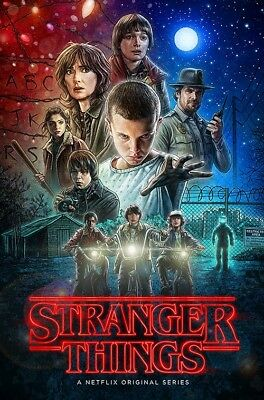 STRANGER THINGS - FULL SIZE POSTER (Size 24x36 inches)