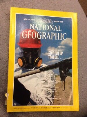 National Geographic Magazine - March 1985 Vikings  Etc