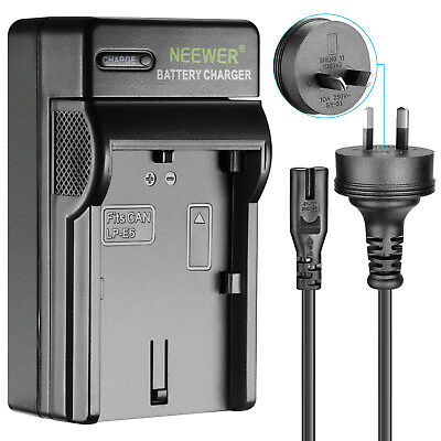Neewer Battery Charger for Canon LP-E6 with AU Plug for Canon EOS 5D 5DS 60Da 7D
