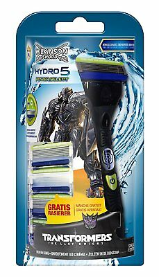 Wilkinson Sword Hydro 5 Transformers Power Select Rasierer + 4 Klingen
