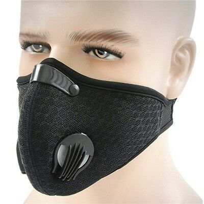Mask Breathable Filtration Exhaust Gas Anti Pollen Allergy for Running Cycling