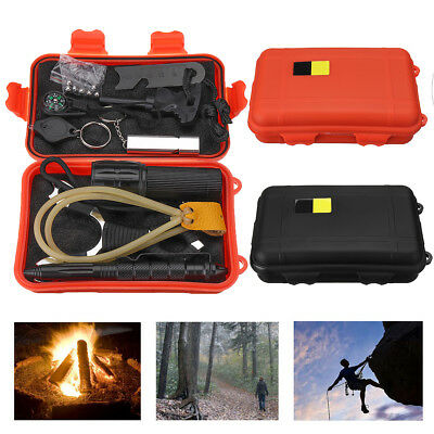 Emergency Survival Equipment Kit Outdoor Sports Tactical Hunting Camping Tool AU