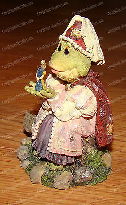 Wee Folkstones, Princess Puckerup Kiss Me Quick (Boyds, 36707) Frog & Prince