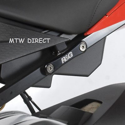 R&G RACING Rear Footrest Blanking Plate (SINGLE) for BMW S1000RR (2010-2018)