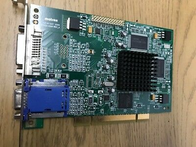 DRIVERS UPDATE: MATROX MILLENIUM G450 DUAL HEAD DVI PCI