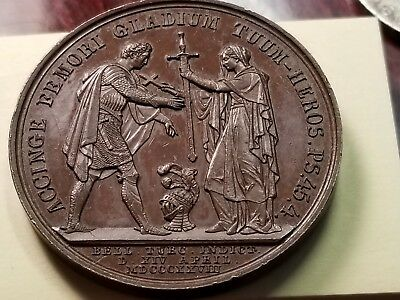 1828 Medal Nicolaus I Russiae Imperator Declaration Of War With Ottoman Empire