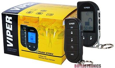 Viper 4706 Car Remote Start  And Keyless Entry 2-Way System 1-Mile Range