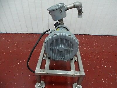 Gast R4310A-2 Regenerative Blower w/Emerson Motor 1HP 3450RPM 3PH