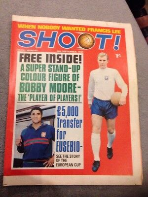 SHOOT FOOTBALL MAGAZINE 6th September 1969 Coventry John O'Rourke Etc