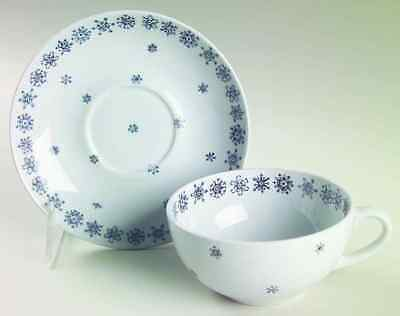 Arabia Of Finland SNOWFLAKE Cup & Saucer 14645