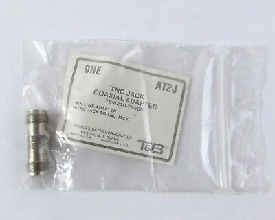 Lot of (300) T&B / Ansley AT2J Connector Coaxial Adapters TNC/F to TNC/F