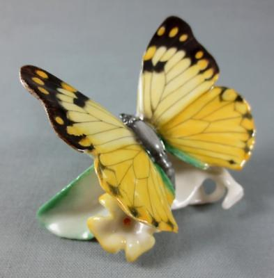 HUTSCHENREUTHER Germany PORCELAIN BUTTERFLY FIGURINE