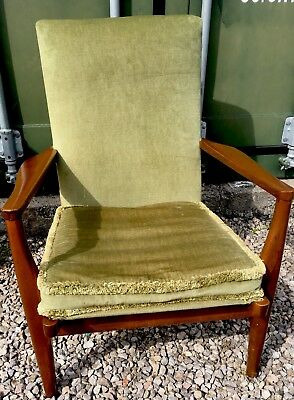 retro mid century 1960 s parker knoll armchair for reupholstering