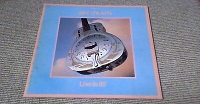 DIRE STRAITS LIVE IN 85 UK TOUR PROGRAMME 1985 Mark Knopfler Brothers In Arms
