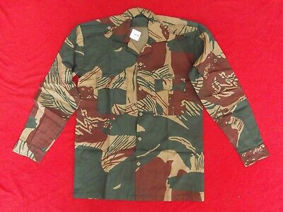 Rhodesia - Rhodesian Army brushstroke camouflage reproduction shirts, Bush War