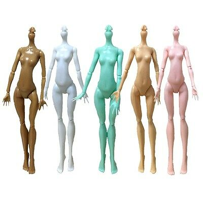 Mini Monster High Doll Naked Body Without Head Replacement Bodies Arms Legs QH