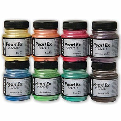 Jacquard Pearl Ex Powdered Pigments for Clay Leather, Canvas, Wood, Glass 14/21g