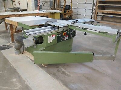 GRIGGIO Model SC1600 Woodworking Sliding Table Saw Runs Great