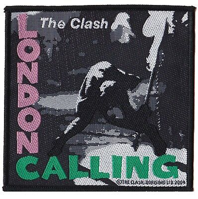 The Clash London Calling patch official badge licence Punk patch sewing