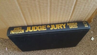 James Patterson  Judge And Jury Hardback No Bust Cover