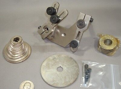 Screw Cutting Attachment for Levin Watchmaker Lathe with ball bearing headstock