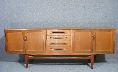 Fabulous Large Vintage Retro G Plan Fresco 7 ft Teak Sideboard