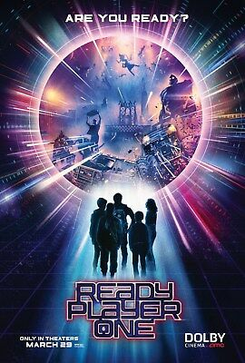 Ready Player One AMC 11.5x17 Promo Movie POSTER