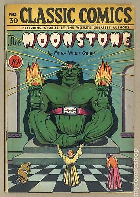 Classics Illustrated 030 The Moonstone #1 1946 GD/VG 3.0