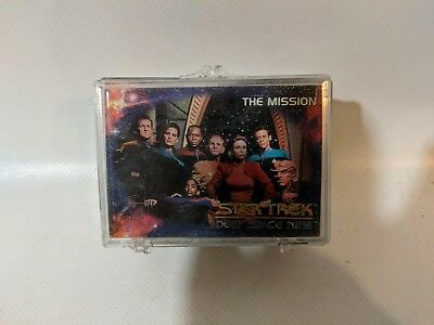 SkyBox Star Trek Deep Space Nine 1993 Complete 100 Card Base Set Series 1
