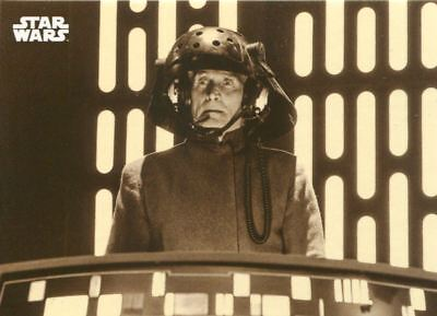 Star Wars Star Wars ANH Black & White Sepia Base Card #35 The Imperial Conference Verzamelingen