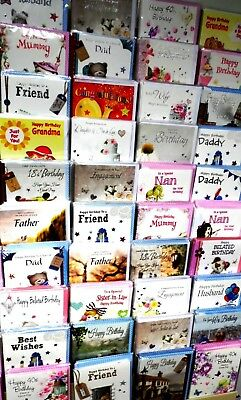 SCOOP PURCHASE! JUST 12p, 600 HEARTSTRINGS CARDS ASSORTED TITLES, 100 DESIGNS