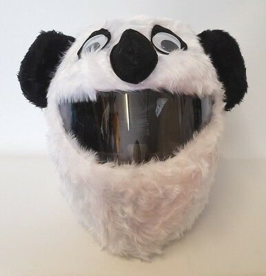 Panda Funny Heeds Crazy Crash Helmet Cover