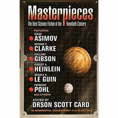 Masterpieces: The Best Science Fiction of the Twentieth - Paperback NEW Card, Or