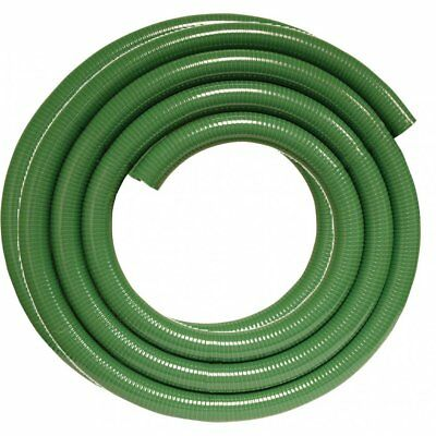 "Suction hose 2"" Delivery Pump Drainage 7 Bar 5 Metre Coil Green Meter 50mm Roll"