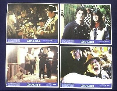 Gremlins Mint Original Lobby Card Set Of 8 1984 Phoebe Cates