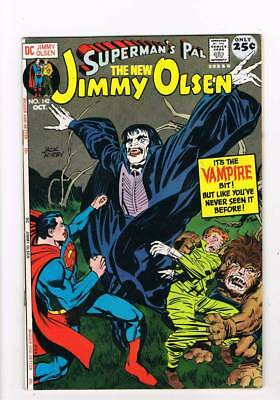 Jimmy Olsen # 142 The Man from Transilvane ! Kirby grade 8.5 scarce book !!