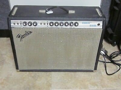 1976 Fender Vibrolux Reverb- silverface, sounds fantastic,very clean,with pedal