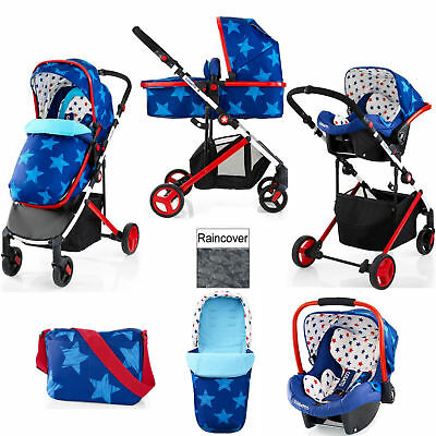 Cosatto Wish Starbright Travel System Pushchair Car Seat From Birth