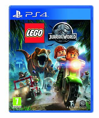 NEW & SEALED! Lego Jurassic World Sony Playstation 4 PS4 Game