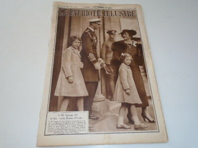 P Illustre N°51 S.m. George Vi Proclamation-   Pub  1936