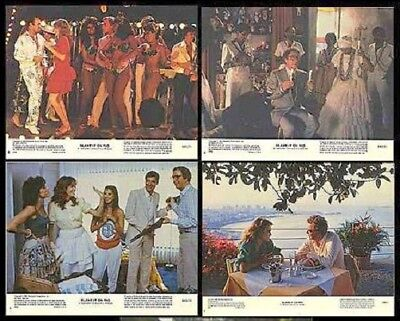 Blame It On Rio Original 11X14 Lobby Card Set Of 8 1984 Michael Caine Demi Moore