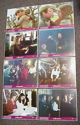 The Competition Original Mint 11X14 Lobby Card Set 1980 Amy Irving